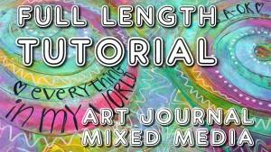 Studio Time 16 - free mixed media tutorial with Mimi Bondi