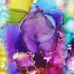 I'm having (alcohol ink) Lucid Dreams, how 'bout you?!