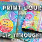 Gel Print Art Journal Flip Through! (ST85)