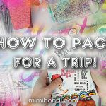 How to pack art supplies for travelling (ST83)