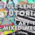 """Mixed Media Art Tag Tutorial """"No Idea"""" (ST87)"""